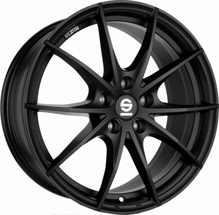 Sparco TROFEO 5 7,5x17 5/114,3 ET 40 MATT BLACK
