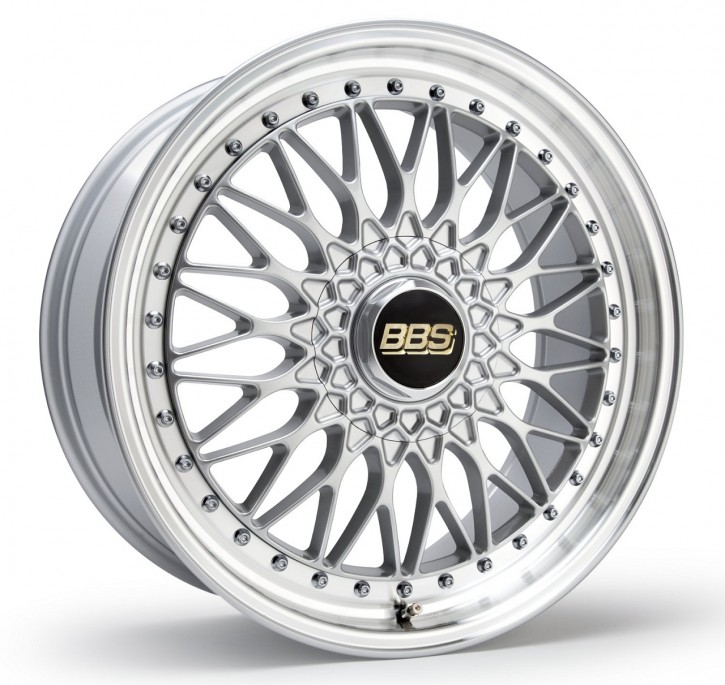 BBS Super RS 8,5x19 5/112 ET 43 brillantsilber/Felge diagedr. [ BBS RS565 ]