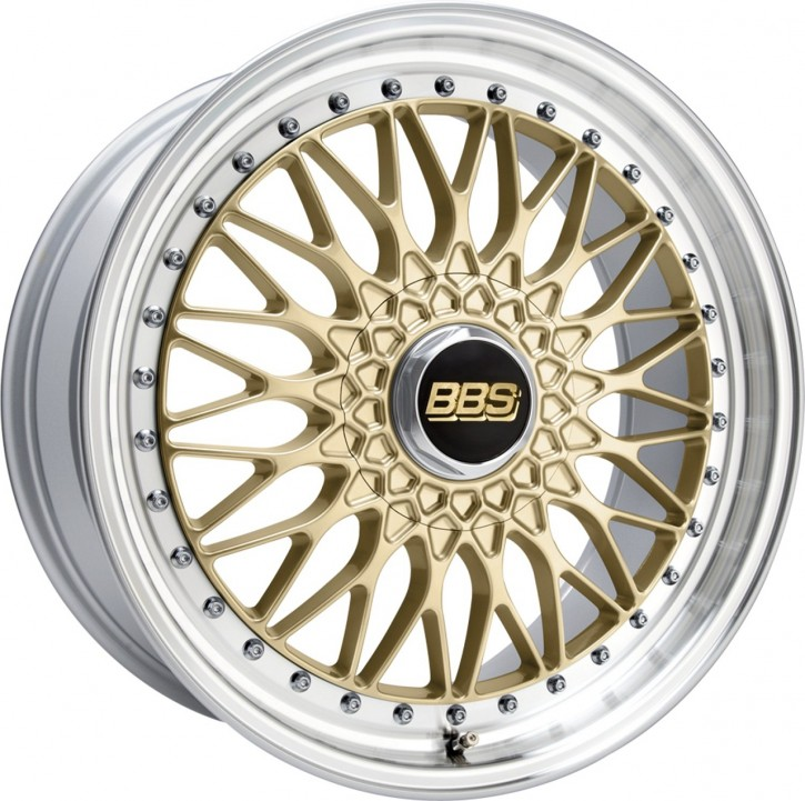 BBS Super RS 8,5x19 5/112 ET 43 gold/Felge diagedr. [ BBS RS565 ]