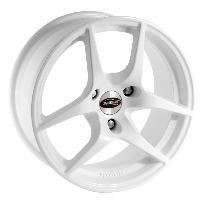 Team Dynamics EAGLE 7,5x16 3/112 ET 32 Gloss-White (Glanzweiss)