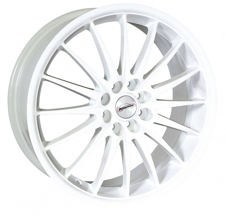 Team Dynamics JET 6,5x15 8/100+108 ET 38 Gloss-White (Glanzweiss)