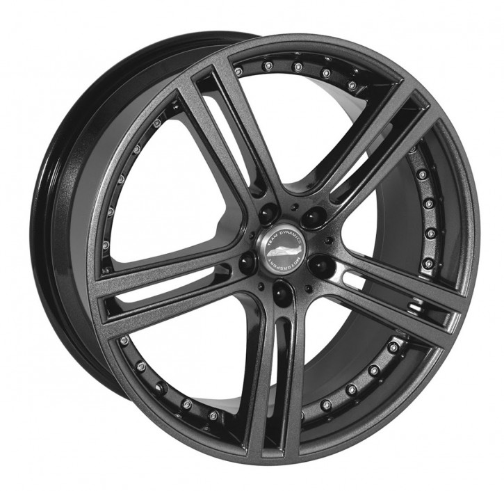 Team Dynamics LE MANS 7,5x17 5/108 ET 45 Gloss-Anthracite (Glanzanthrazit)