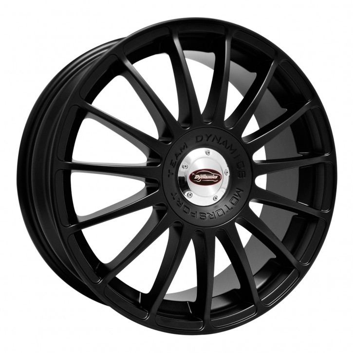 Team Dynamics MONZA R + RS 7,5x18 10/108+114 ET 37 Racing-Black (Mattschwarz)