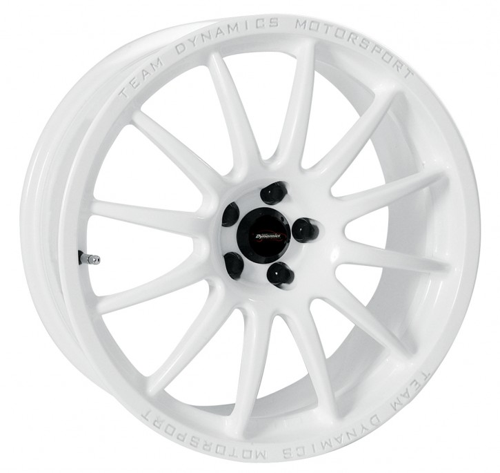 Team Dynamics PRO RACE 1.2 7x17 4/095 ET 25 Gloss-White (Glanzweiss)