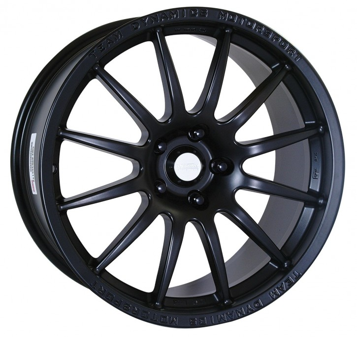 Team Dynamics PRO RACE 1.2 8x18 5/105 ET 35 Racing-Black (Mattschwarz)