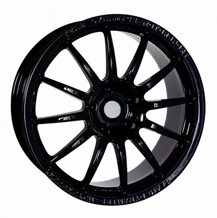 Team Dynamics PRO RACE 1.2 7x17 4/114 ET 38 Gloss-Black (Glanzschwarz)