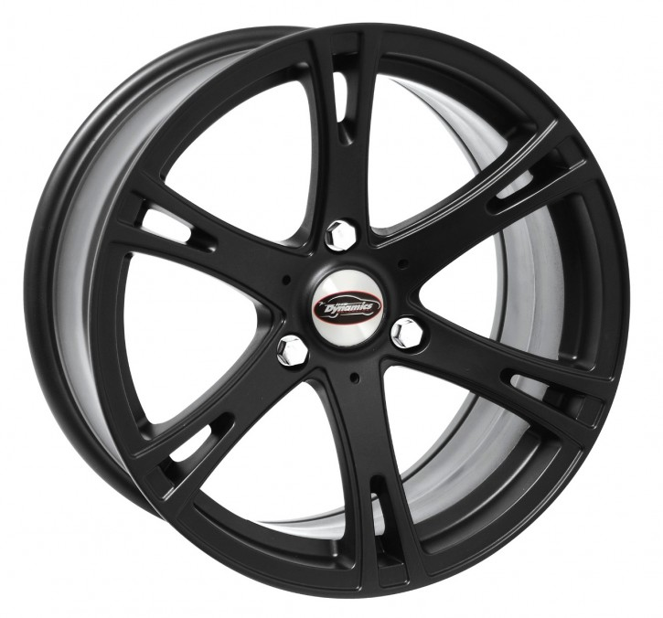 Team Dynamics SMARTIE 7,5x16 3/112 ET 32 Racing-Black (Mattschwarz)
