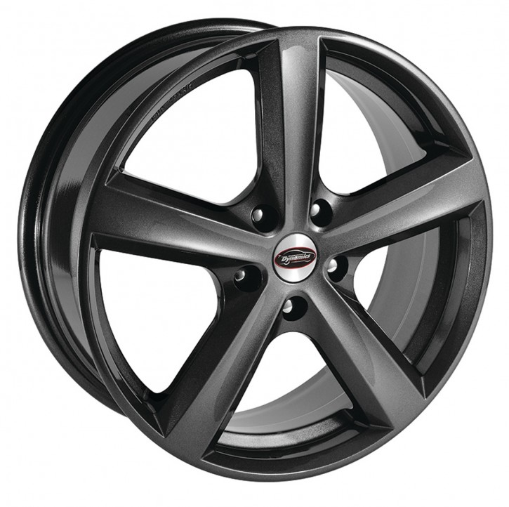 Team Dynamics CYCLONE 7x17 5/105 ET 38 Gloss-Anthracite (Glanzanthrazit)