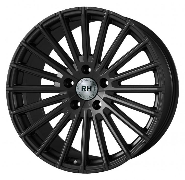 RH WM Flowforming 8x18 5/108 ET 45 racing schwarz lackiert