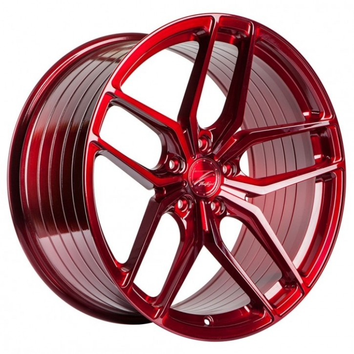 Z-Performance ZP2.1 Deep Concave  11x20 5/120 ET 40 FlowForged Brushed Candy Red