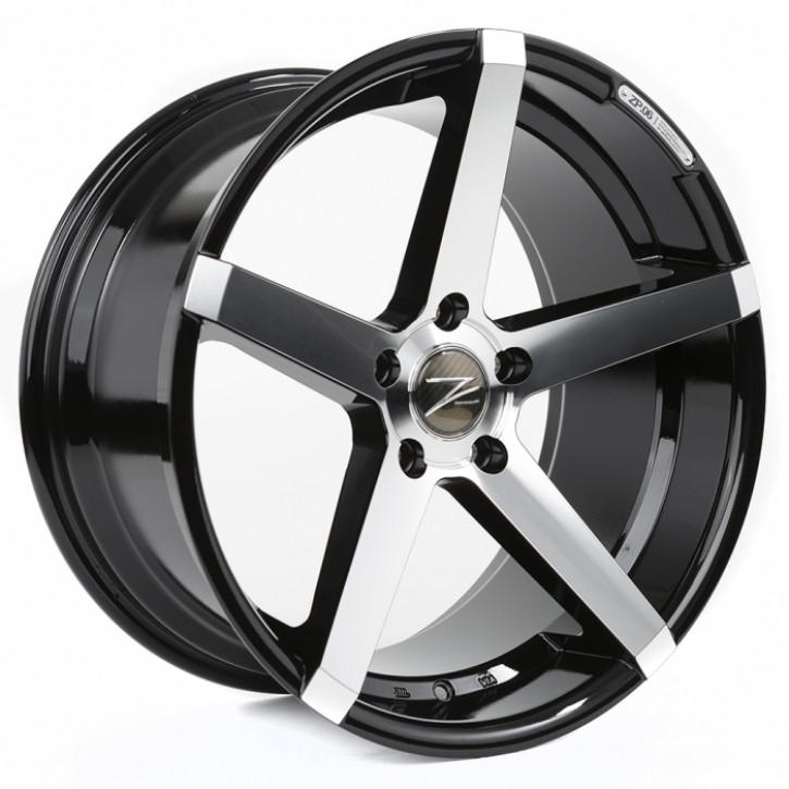 Z-Performance ZP.06 Deep Concave  10x20 5/120 ET 45 Phantom Black/Polish