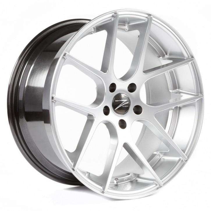 Z-Performance ZP.07 Deep Concave  8x18 5/120 ET 35 Sparkling Silver