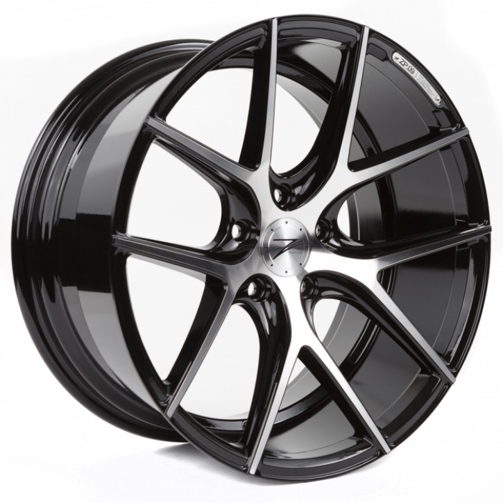 Z-Performance ZP.09 Deep Concave  8.5x20 5/120 ET 35 Phantom Black / Polished