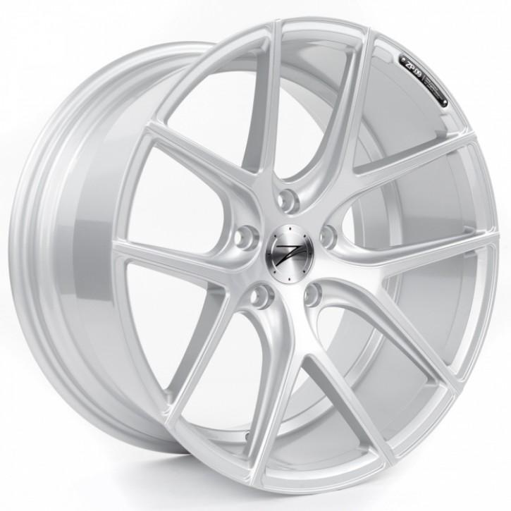 Z-Performance ZP.09 Deep Concave  10x20 5/120 ET 45 Sparkling Silver