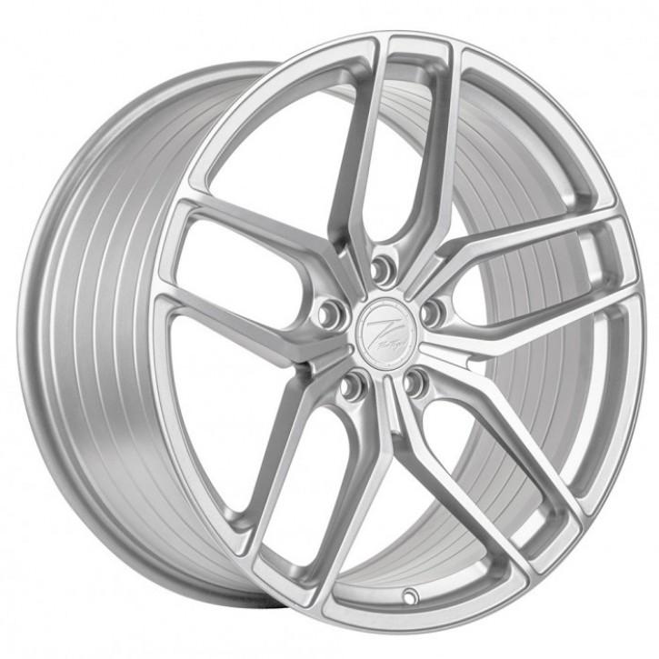 Z-Performance ZP2.1 Deep Concave  9x20 5/120 ET 30 FlowForged Sparkling Silver