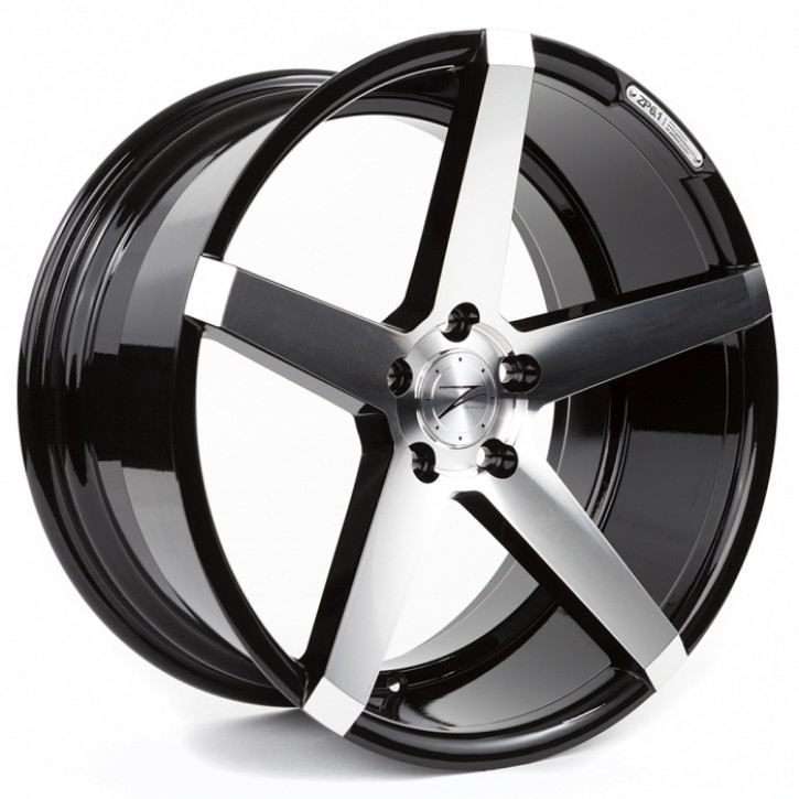 Z-Performance ZP6.1 Deep Concave  8.5x19 5/114 ET 40 Phantom Black/Polished