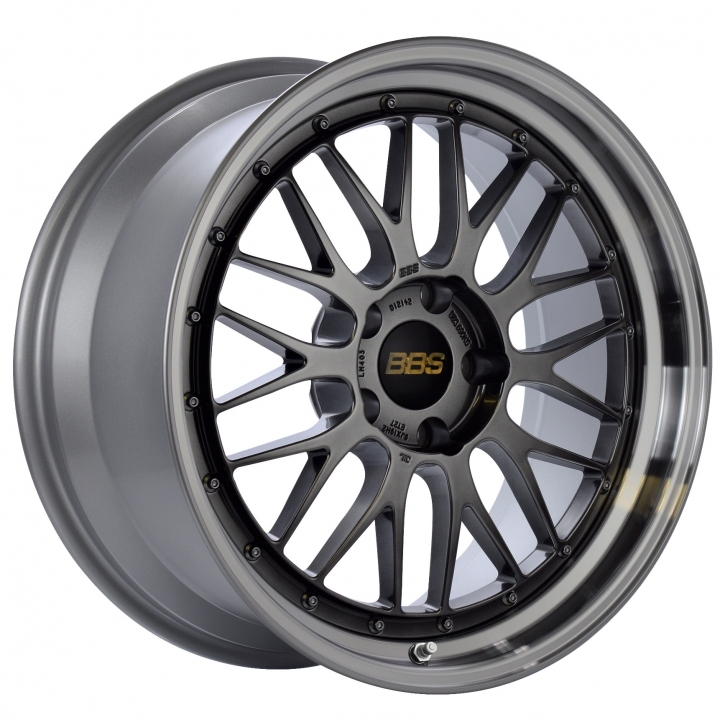 BBS LM 7,5x17 4/100 ET 40 diamond black/Felge diagedr. [ BBS LM198 ]