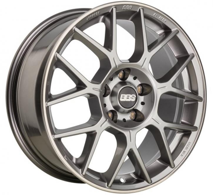 BBS XR 8,5x19 5/108 ET 43 platinum silber [ BBS XR0205 ]
