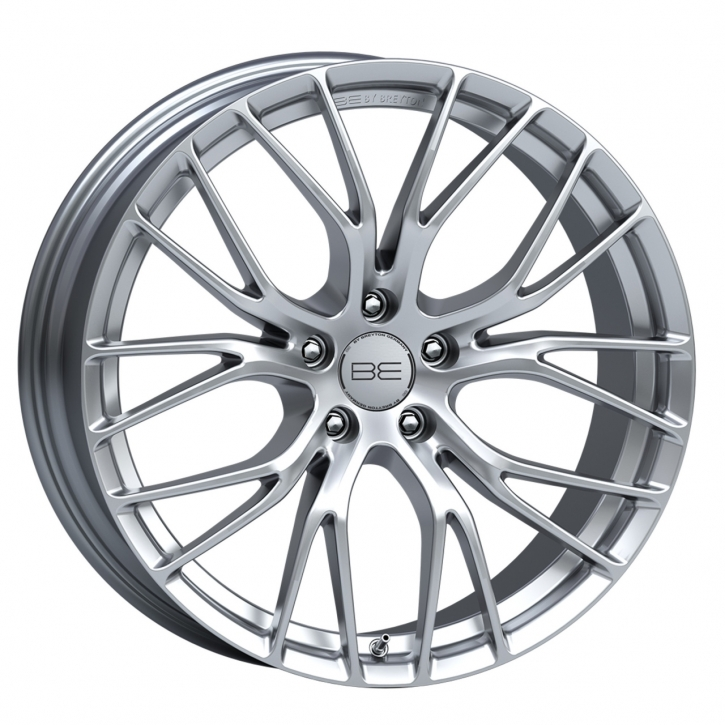 BE by Breyton Force 4 8,5x19 5-112 ET 50 Hyper Silver