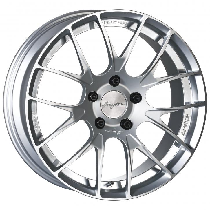 Breyton GTSR-PF 10,0x19 5-130 ET 40 Silver Anodized