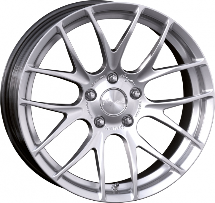 Breyton Race GTS-R 7,0x18 4-100 ET 40 Hyper Silver