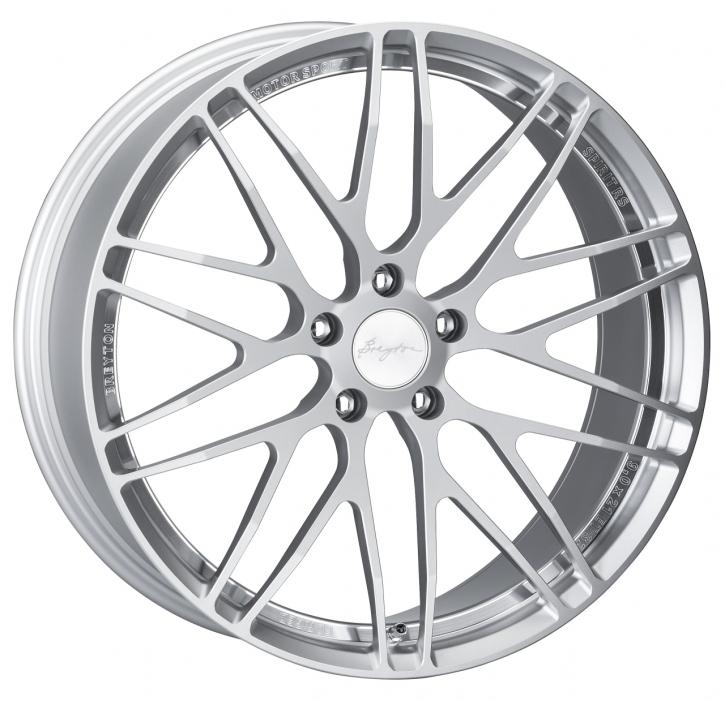 Breyton Spirit RS 9,0x19 5-120 ET 29 Silver Anodized