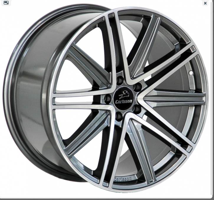 Carlsson 1/10 EVO 9,5x20 5/112 ET 50 Diamond Edition