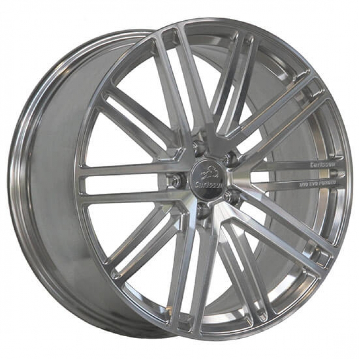 Carlsson CR 1/10 EVO forged 9x20 5/112 ET 50 Raw Surface