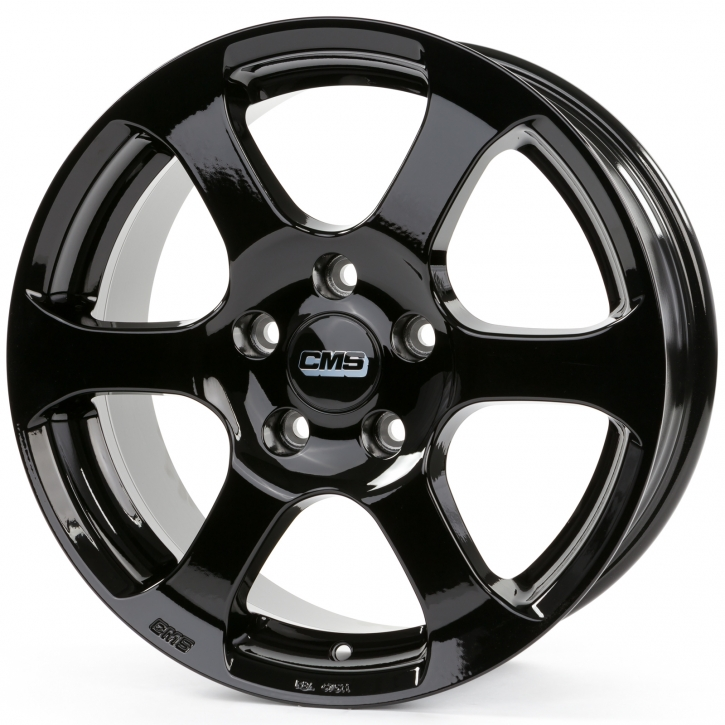 CMS C10 6,5x16 5/108 ET 50 Complete Black Gloss