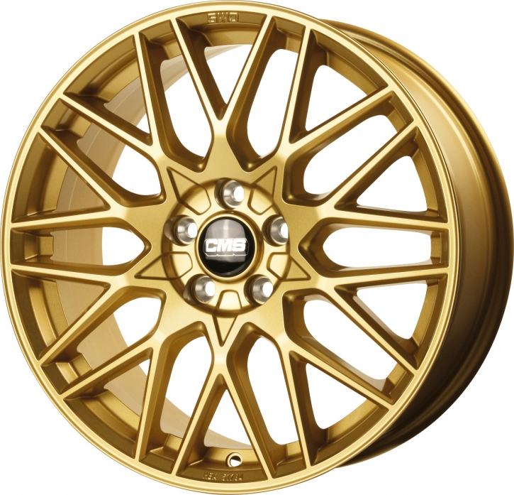 CMS C25 7,5x18 5/108 ET 51 Complete GOLD Gloss
