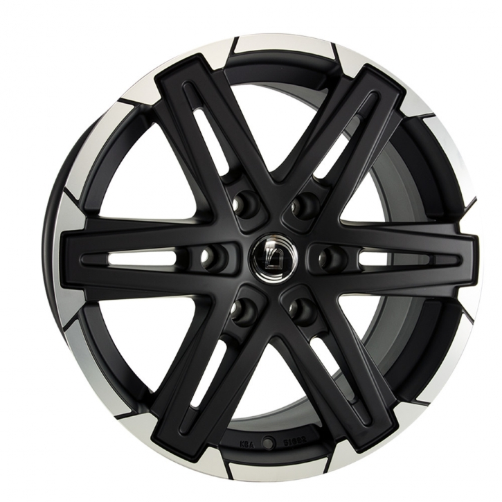 Diewe Grezzo 8,5x18 6/139,7 ET 45 Nero machined