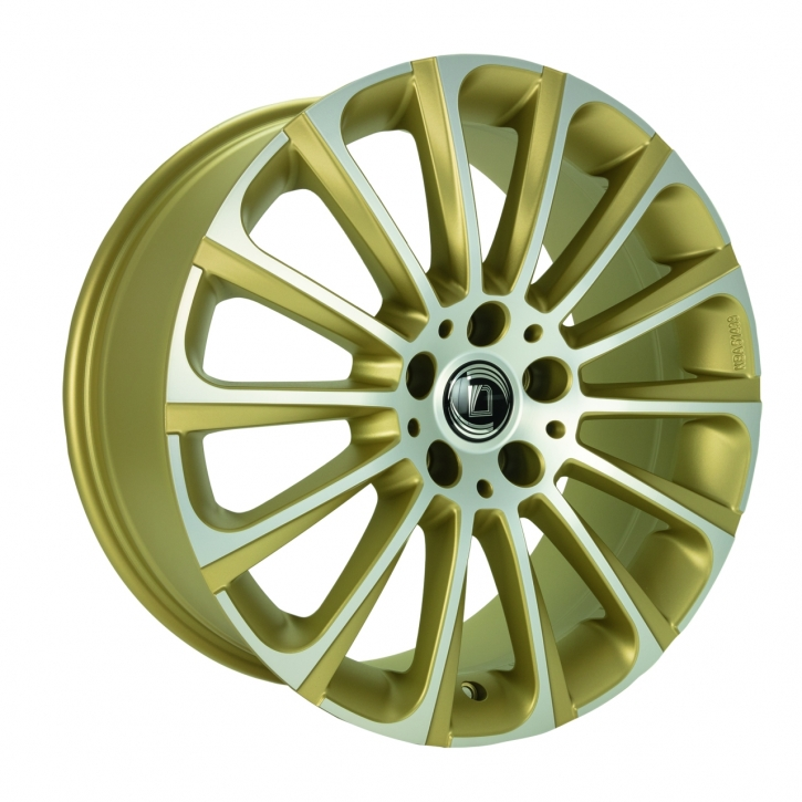 Diewe Turbina 8,5x19 5/112 ET 35 Gold machined