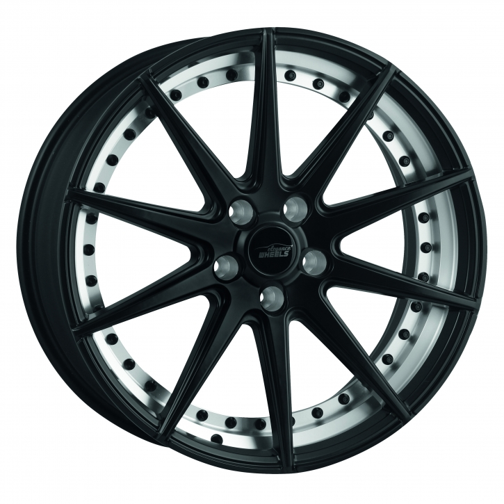 ELEGANCE WHEELS E 1 Concave 9x20 5/112 ET 40 Highgloss Black split rim