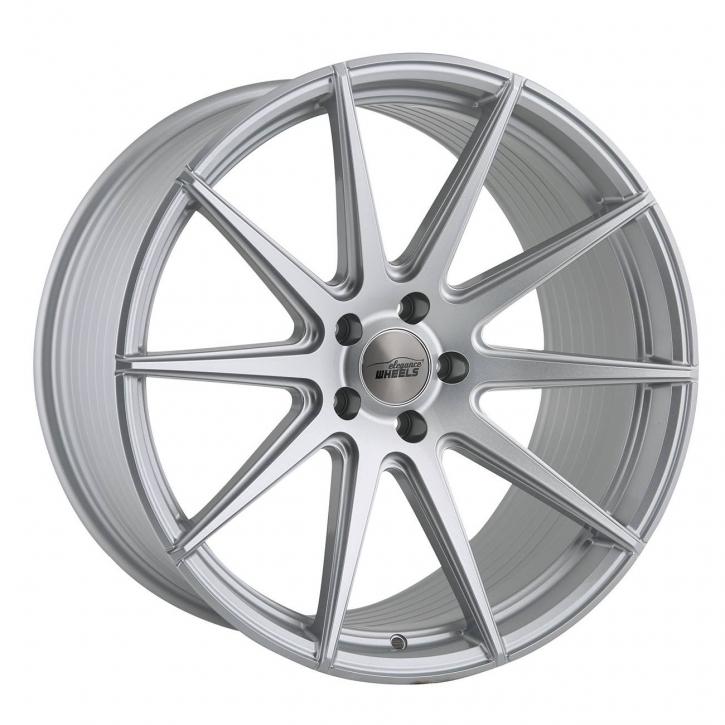 ELEGANCE WHEELS E 1 FF Concave 9,0x21 5/108 ET 40 Hyper Silber
