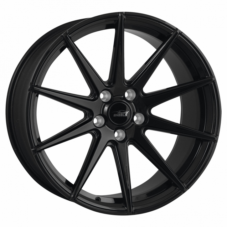ELEGANCE WHEELS E 1 FF Deep Concave 9,5x19 5/120 ET 45 Highgloss Black