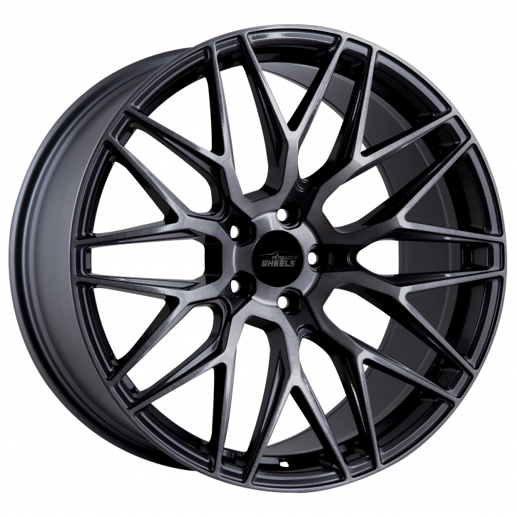 ELEGANCE WHEELS E 3 FF Deep Concave 10x20 5/120 ET 45 Highgloss Black