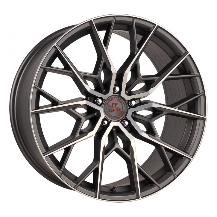 ELEGANCE WHEELS FF 330 Deep Concave 10x20 5/114,3 ET 43 Glossy Gunmetal polish