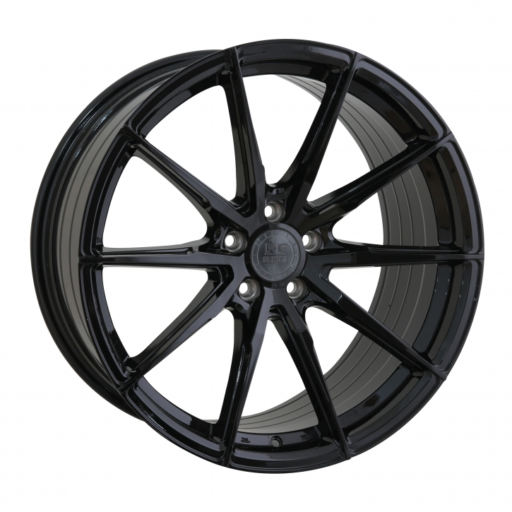 ELEGANCE WHEELS FF 440 Deep Concave 10,0x20 5/120 ET 42 Highgloss Black