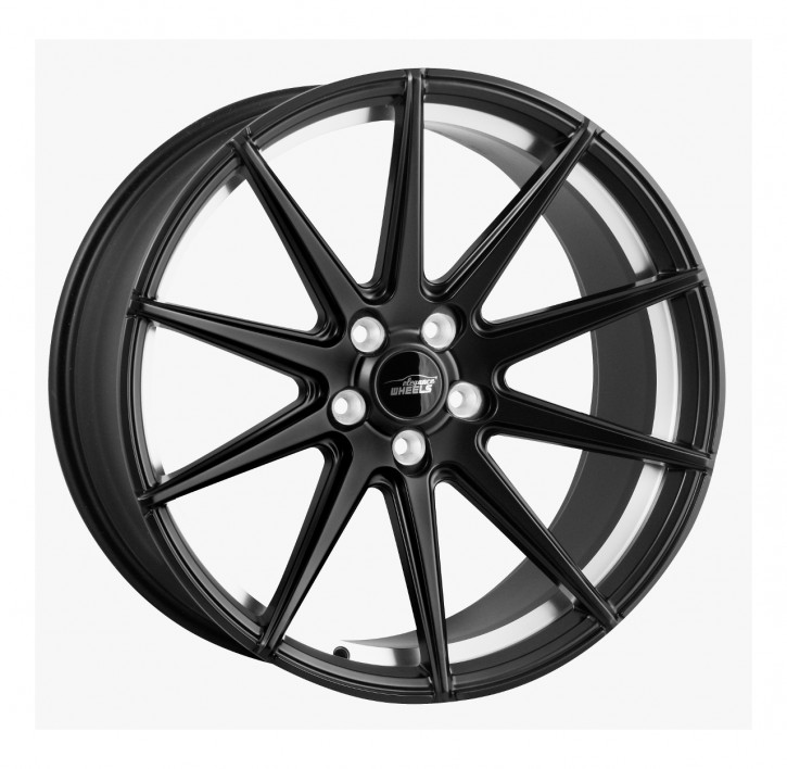 ELEGANCE WHEELS E 1 Concave 8,5x19 5/112 ET 45 Satin Black Undercut polish