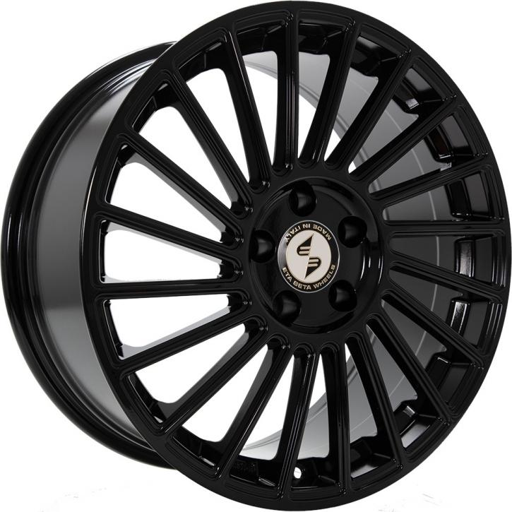 ETA BETA VENTI-R 9x21 5/114,3 ET 35 Black shiny