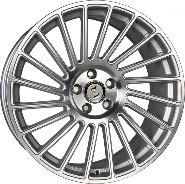 ETA BETA VENTi-R 10.5x20 5/108 ET 33 Silber glänzend lackiert Front poliert