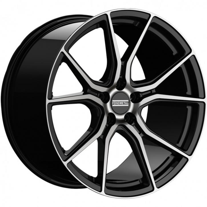Fondmetal STC-45 8,5x20 5/108 ET 40 diamond-black