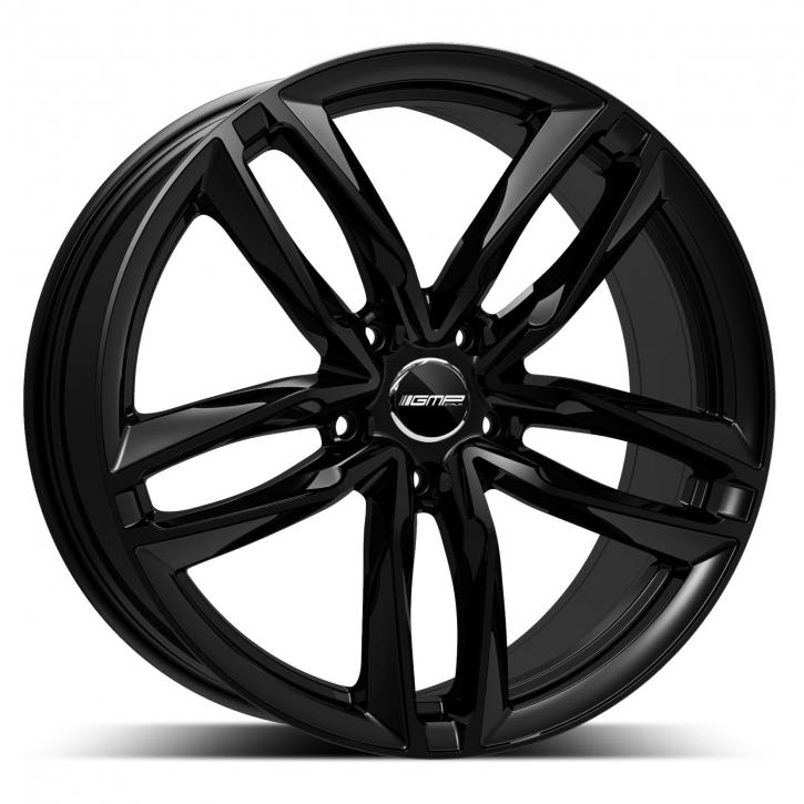 GMP Dedicated Atom 10x21 5/130 ET 45 Glossy Black