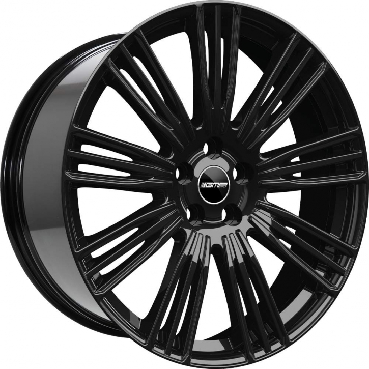 GMP Dedicated Coventry 9,5x22 5/108 ET 42 Black glossy