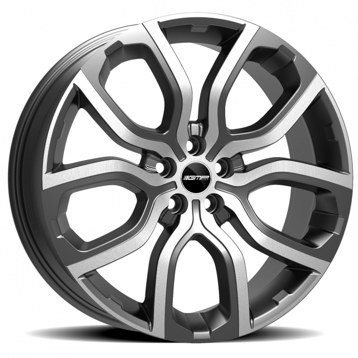 GMP Dedicated Evos 8x20 5/108 ET 45 anthracite diamond