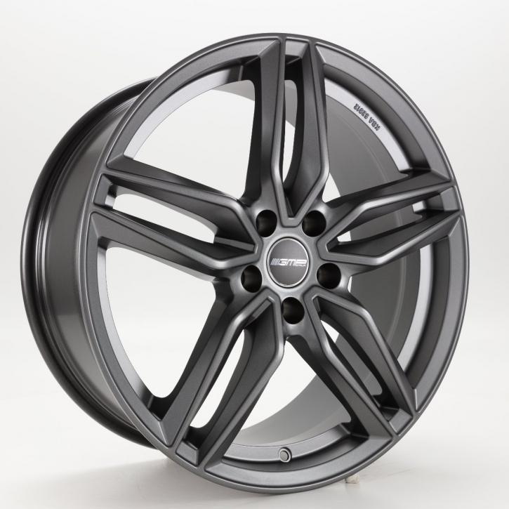 GMP Dedicated FASTEN 7,5x17 5/114,3 ET 40 Anthracite matt