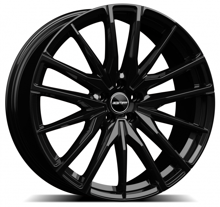 GMP Dedicated Sparta 10,5x21 5/112 ET 43 Black glossy