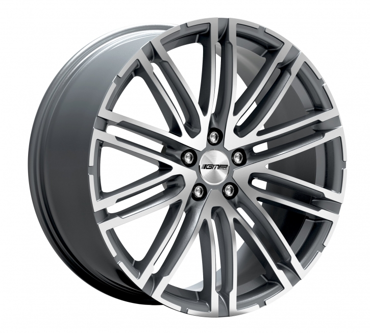 GMP Dedicated Targa 10x21 5/130 ET 50 Anthr. diamond
