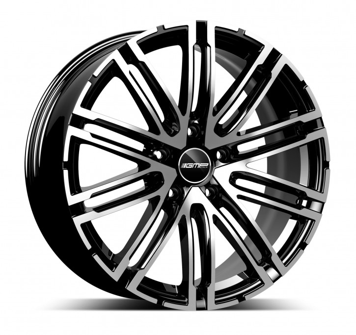GMP Dedicated Targa 10x21 5/130 ET 50 black diamond