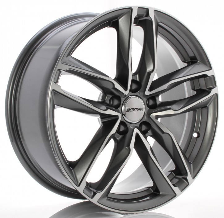 GMP Dedicated Atom 10x21 5/130 ET 45 anthracite diamond